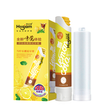 100g Brand names toothpaste in Guangzhou fruit flavor toothpaste in OEM toothpaste plant