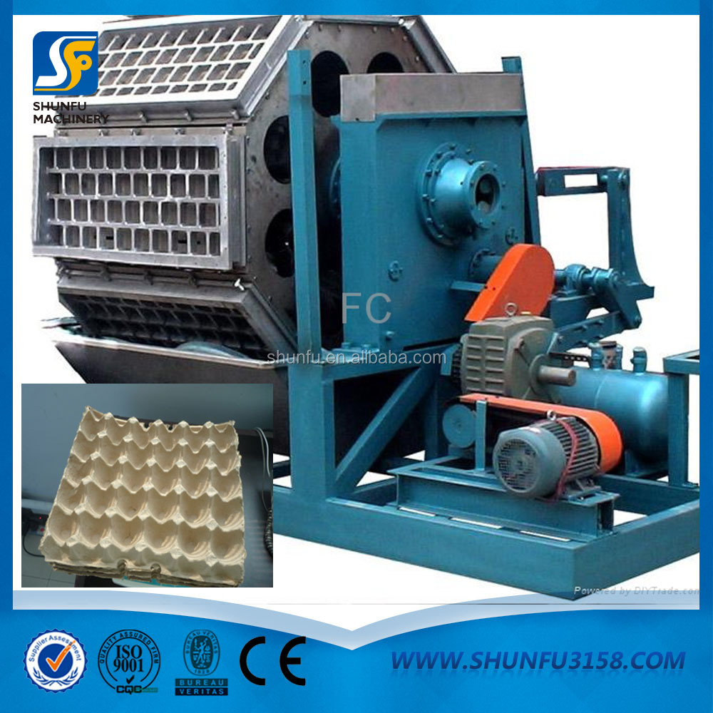 Alibaba gold supplier stainless steel drying system egg tray making machine