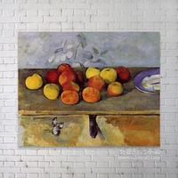 glass painting images about still life of Paul Cezanne - Still Life with Apples a Glass of Wine