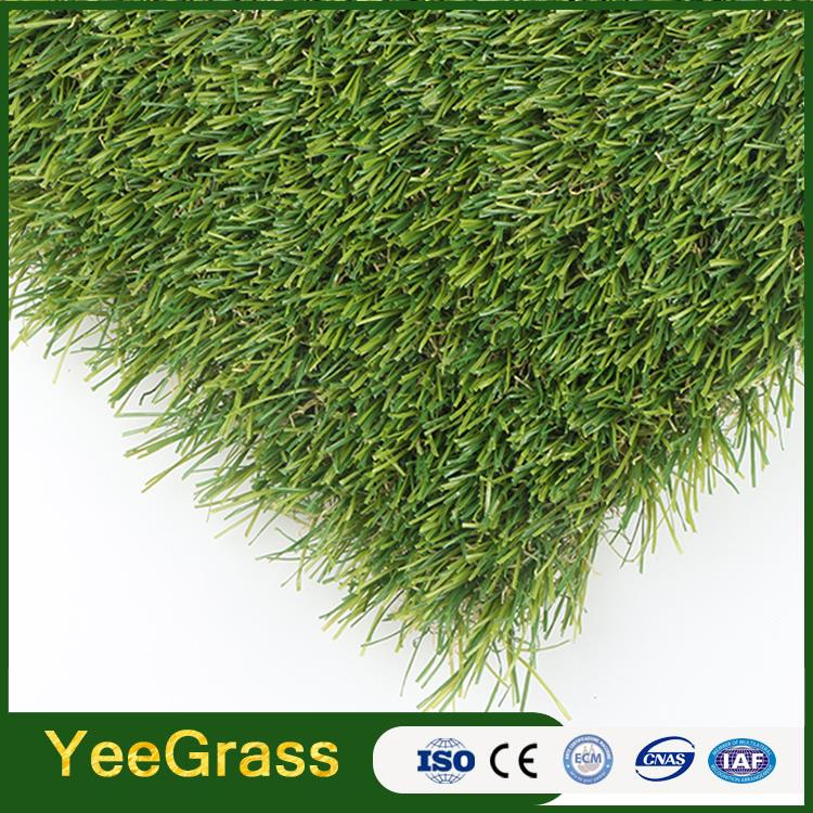 PP and PE decoration anti UV Factory ornaments artificial grass