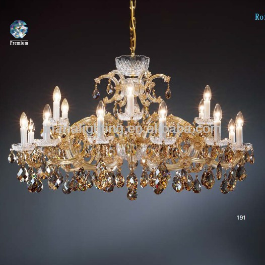 Wholesale Modern Italian Maria Candle Crystal Chandelier