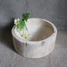 unfinished craft wooden bowl wood boat bowl rustic wooden bowl