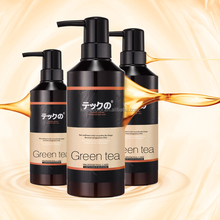 High Quality Green Tea hair straightening shampoo and conditioner