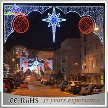 Outdoor commercial public holiday led Christmas street decoration motif light