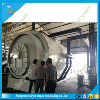 Semi-automatic nice quality waste tyre recycle plant Rubber Powder Production Line tire cutter