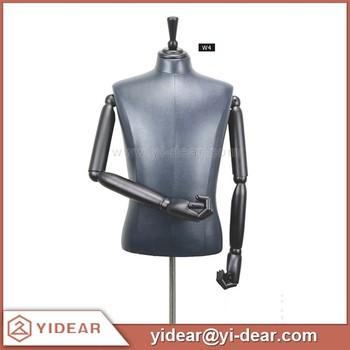 Male Adjustable Pluz Size Men Dress Form Mannequin
