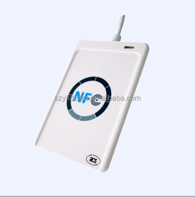 ACS USB Android 13.56mhz Contactless External NFC Card Reader/Skimmer for <strong>Payment</strong> ACR122U-A9