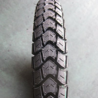 natural rubber motorcycle tyre 275-17 6PR 2.50-17 3.00-17 tyre and tube 3.00-18 110/90-16 Tubeless tyre