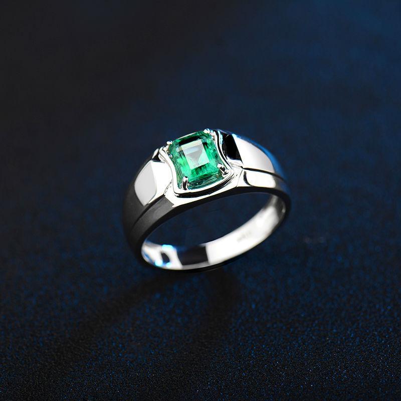 Emerald Rings For Men Gemstone Men Ri...