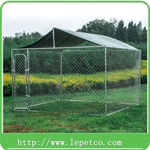 high quality outdoor steel frame heavy duty large animal cages for sale