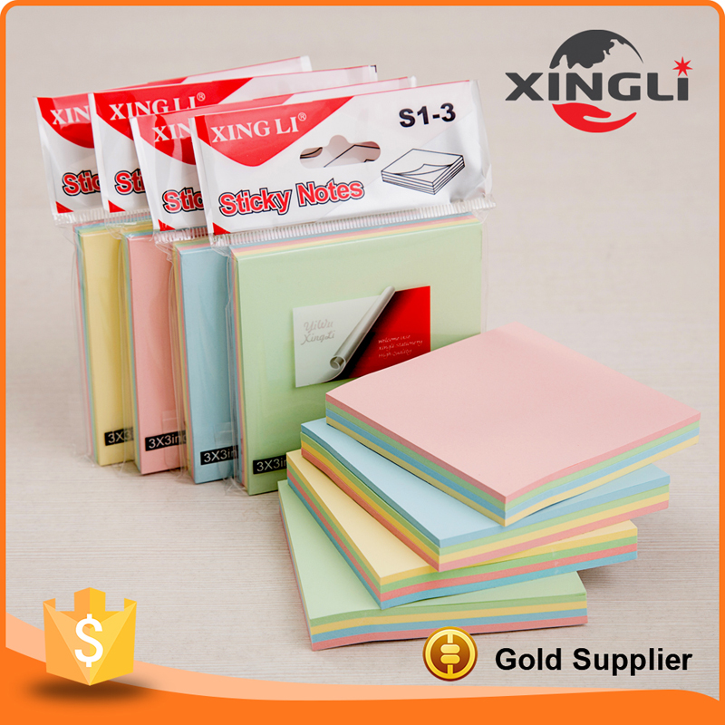Cheap promotional personalized sticky notes