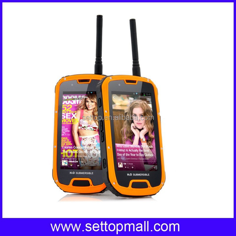 ip67 waterproof mobile phone walkie talkie S09+