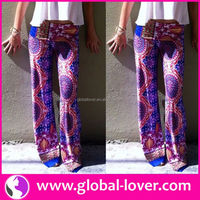 2016 womans free pattern fat woman palazzo harem pants