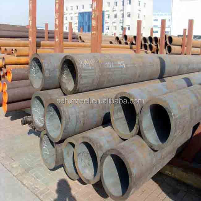 large dia APL 5L X52 SAWL TMCP material 660.4mmX34.6mm carbon steel pipes sizes