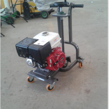 New asphalt crack router / asphalt grooving machine with vacuum