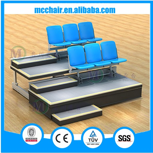 Athens New Famous China Tip-up Folding Portable Bleacher Stadium Seats