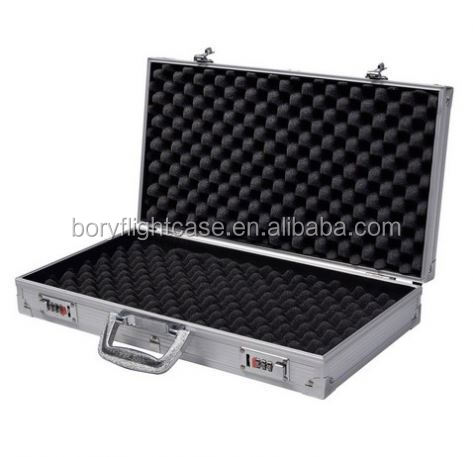 Aluminum ar15 Storage Carry Case With Safety Foam