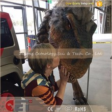 CET-H1233 Shopping mall artificial T-Rex mechanical dinosaur costume Realistic walking animatronic for adults