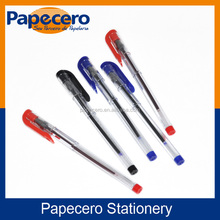Papecero Custom Logo Office Oil Gel Ink Pen