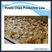 Small potato chips machine fully automatic potato chips production line price