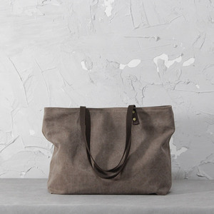 The latest fashion design canvas handbags women bags handbag