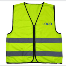 Men's high visibility vest waistcoat yellow <strong>orange</strong> executive work safety