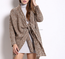 top selling newest style ladies fancy wool woolen cardigan sweater