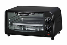 Cheaper Protable Mini 9L toaster Oven with bake tray wire rack tray handle