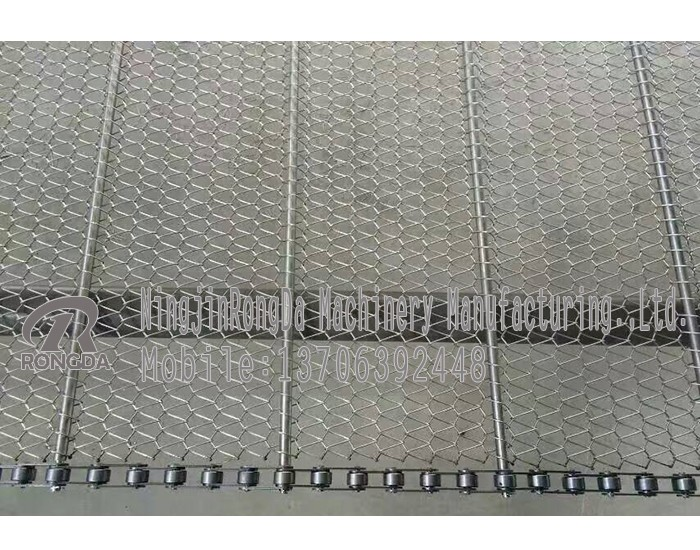 interesting wire mesh belt for fryer