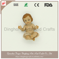 Wholesale Cheap Indoor Decorative Polyresin Religious Model Resin Nativity