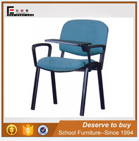 School furniture supplier best phlebotomy student chair with writing tablet for sale