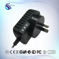 OEM and High Quality AC DC Power Adapter 9V 1A Switch Power Supply for Dog Sliencer with SAA Approval