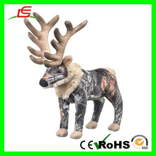 E357 Customized Sublimation Printing Vivid Animal Plush Stuffed Toys Patterns