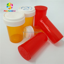 16 DR Pill / Capsule Packaging Childproof Container / Tubes /Jar With Push & Turn Down Cap