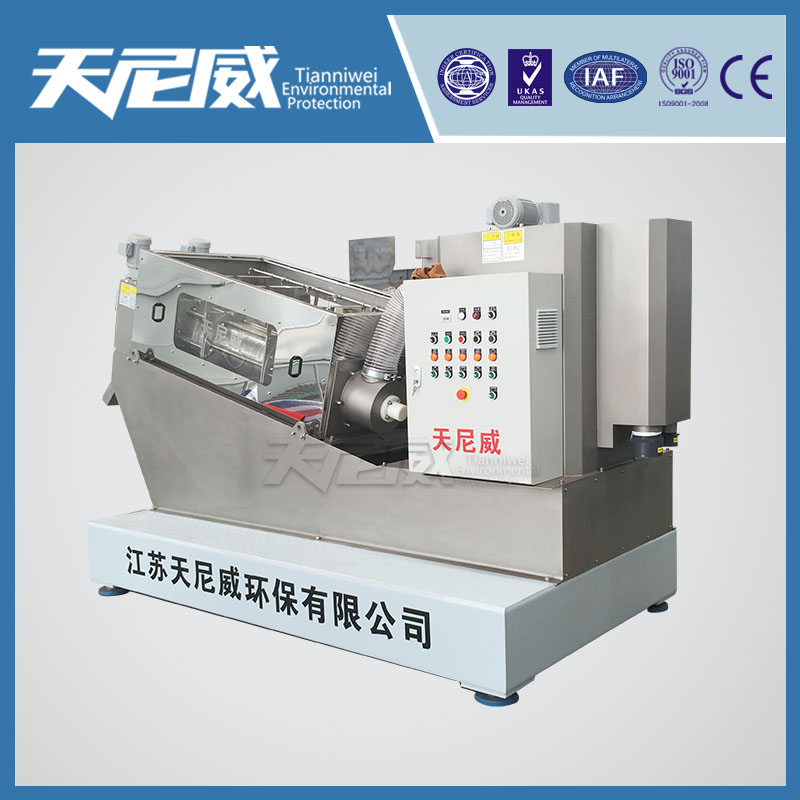 Textile sludge drying machine