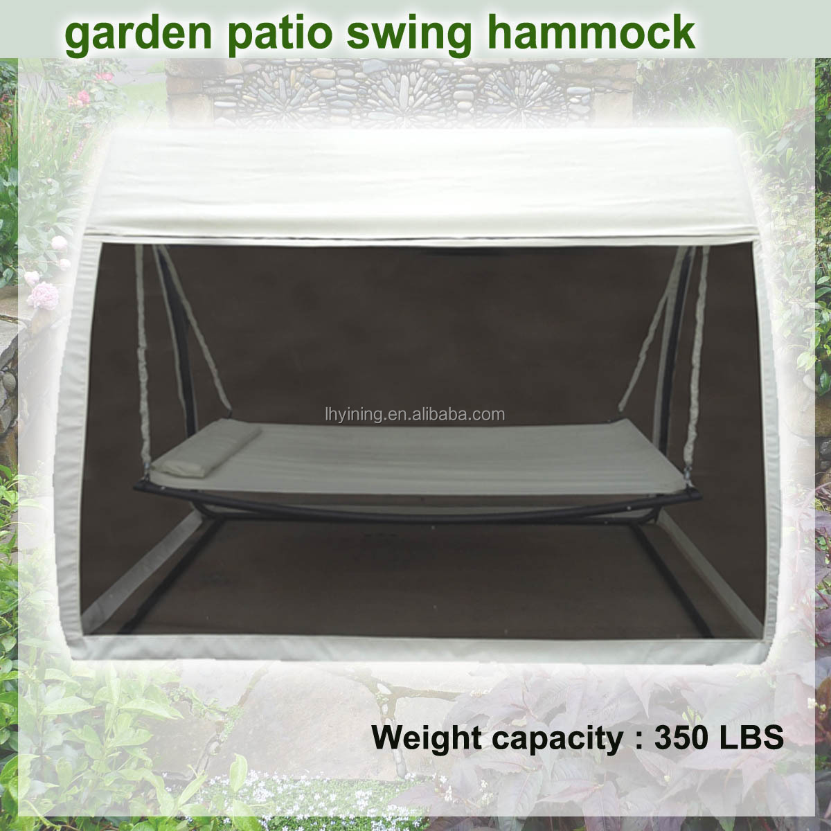 Swing Hammock with Mosquito Net Bed