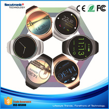 Wholesale High Quality Kw18 Kenxinda Smart Watch Mobile Phone with IPS Round Touch Screen and Heart Rate Monitor
