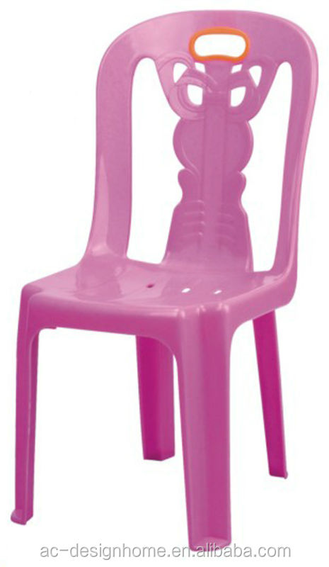 FUCHSIA, TURQUOISE, LIME GREEN, ORANGE PP PLASTIC CHAIR