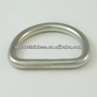 Rigging Hardware Stainless Welded D Ring