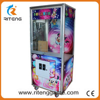 High Quality Cheap Customcoin operated type new style toy crane game machine