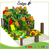 Xiaofeixia Children Green Theme Park Amusement Park Naughty Castle For Indoor Play Equipment