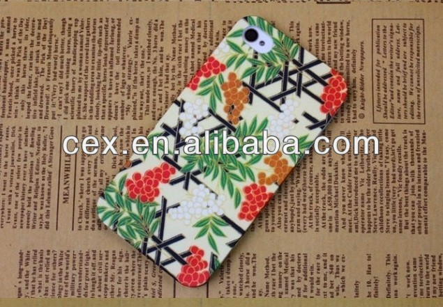 Japan Blossom Sakura Rain Water Drop Hard Back Cover Case for iPhone 4 4s 5 5s