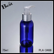 high quality 75ml travel pet plastic bottle for cosmetic