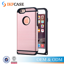 Hybrid PC + TPU Shockproof Armor Case for iPhone 5 5S SE 6 Brushed Scrub Phone Cover Protective Cases