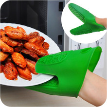 microwave oven use silicone hand gloves