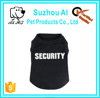Security Tee Shirts xxxl Dog Cat Summer Clothes