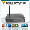 Hot shiningworthandroid media player kodi 15.2 M10 2G 16G s812 metal internet tv box android 5.1