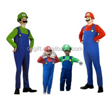 Super mario costume per il commercio all'ingrosso