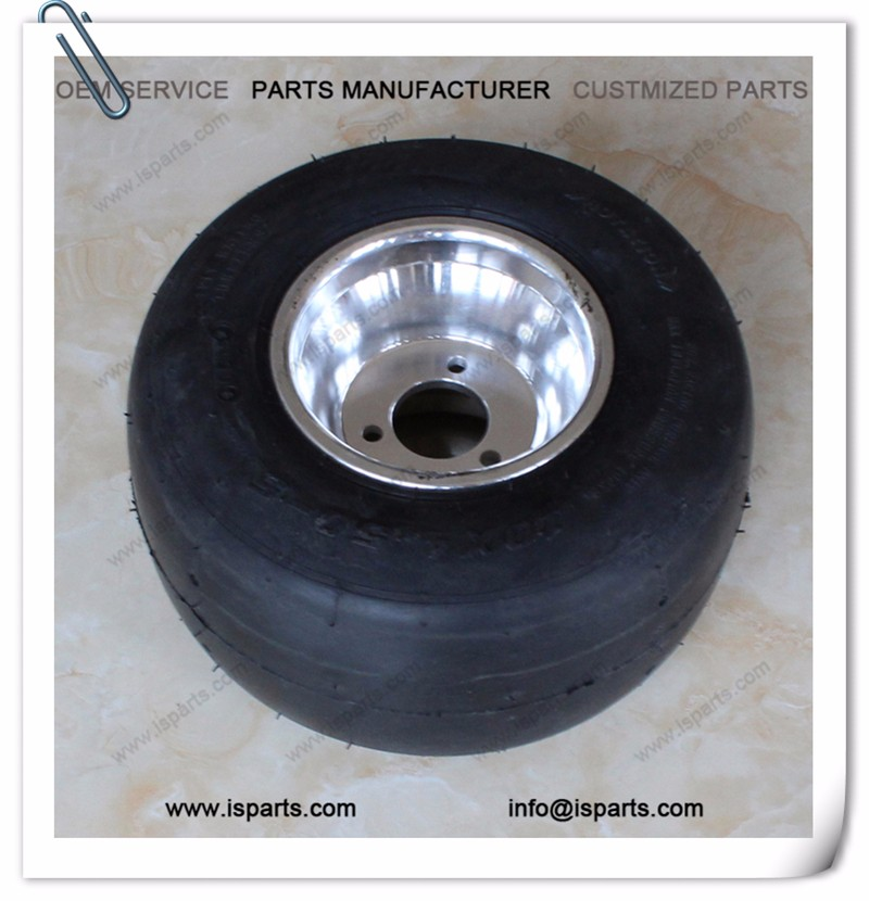 Go kart 10*4.5-5 tire with rim for sale