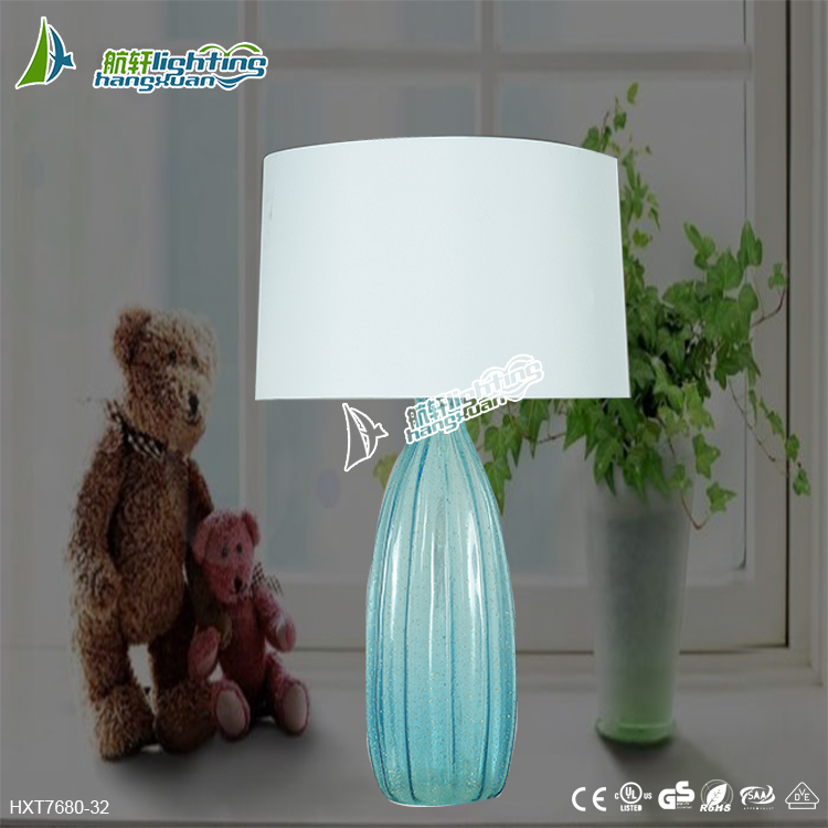 European creative ceramic energy-saving lamps,American retro desk lamp for style# HXT7680-32